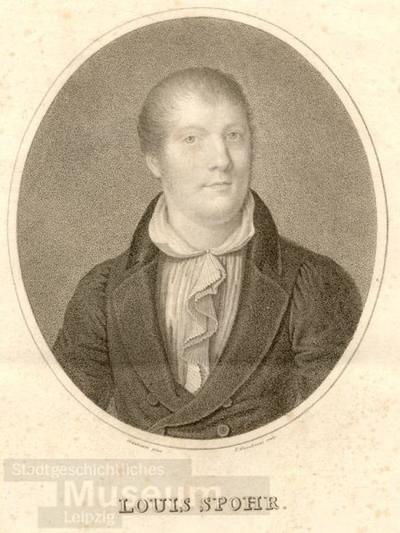 Louis Spohr; Radierung