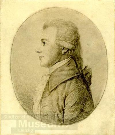 Bildnis Christian Gottfried Körner; Lichtdruck