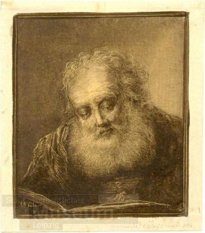 Alter Mann; Zeichnung