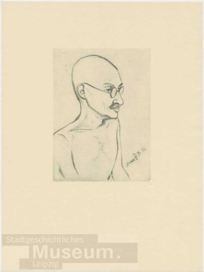 Mahatma Gandhi; Druck
