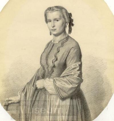 Bildnis Ida Theodora Graf; Grafik