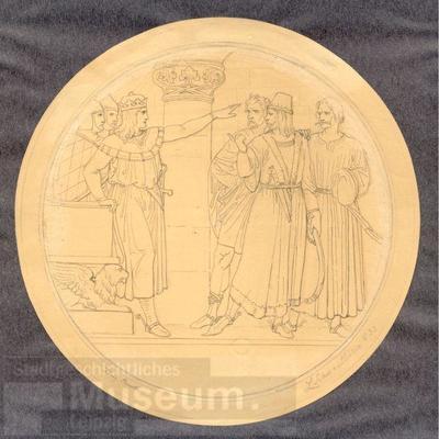 König Arnuth; Zeichnung