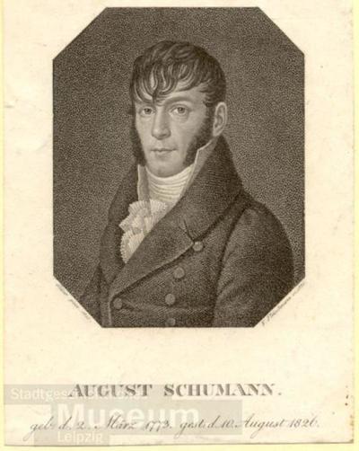 August Schumann; Radierung