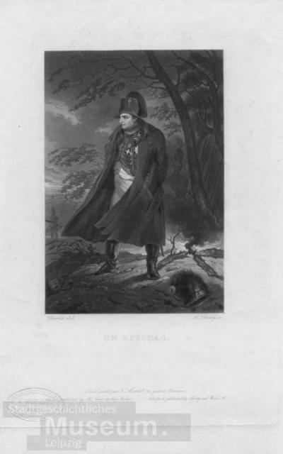 Un Bivouac; Kupferstich