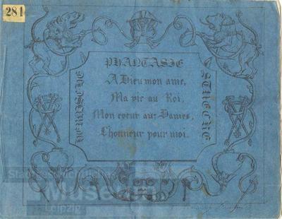 Heroische Phantasie Stücke; Verhöhnung Fouqué's; Heft