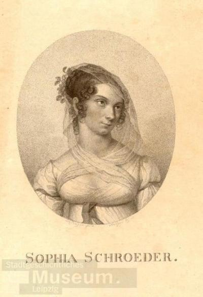 Sophia Schröder; Radierung