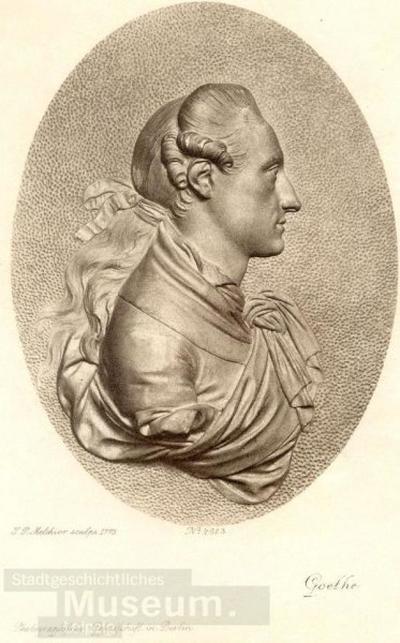 Goethe; Lichtdruck