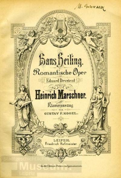 Hans Heiling (Oper); Klavierauszug; Buch
