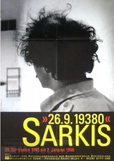 Sarkis-26.9.19380; Ausstellungsplakat