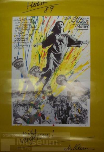 Das Freudenfest; Plakat