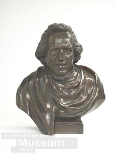 Büste von Moses Mendelssohn; Plastik