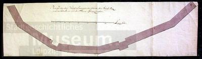 Image from object titled Plan von den alten Schlossbaraquen; Zeichnung; Bauzeichnung