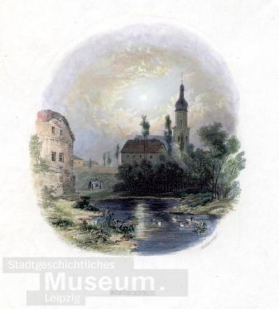 Schönefeld; Stahlstich