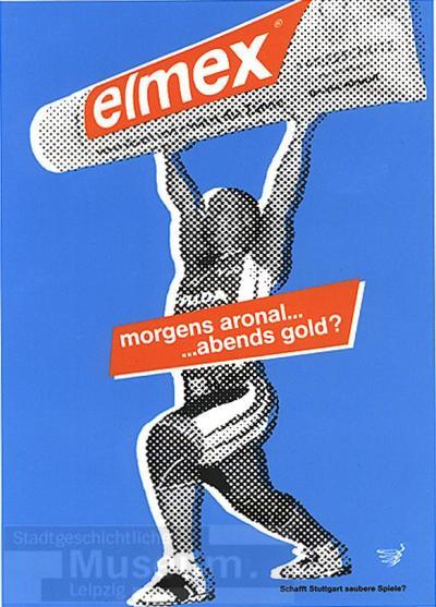 Olympia 2012 in Stuttgart; Postkarte