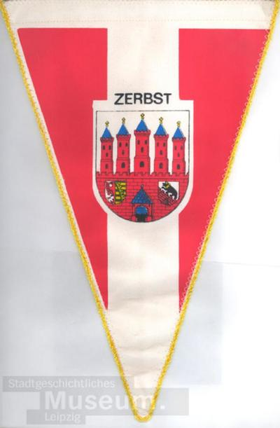 Image from object titled Zerbst; Wimpel