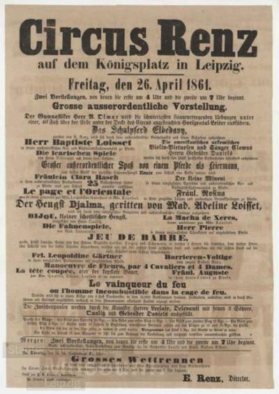 Image from object titled Anschlagzettel