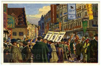 8. Messbetrieb; Postkarte