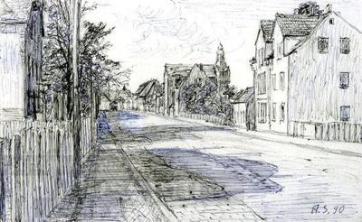 Liebertwolkwitz; Zeichnung