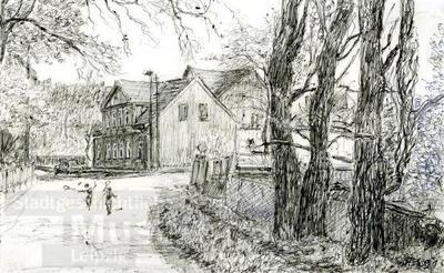 Markkleeberg West; Zeichnung
