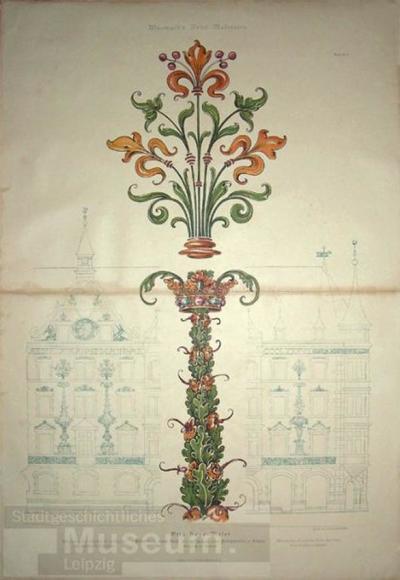 Wasmuth's Neue Malereien; Lithographie