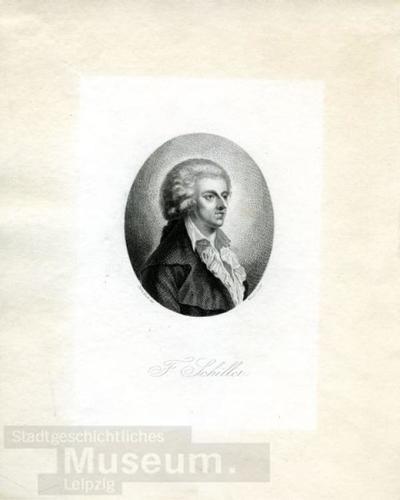 F. Schiller; Kupferstich