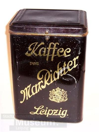 Kaffee von Max Richter Leipzig; Büchse/Dosen