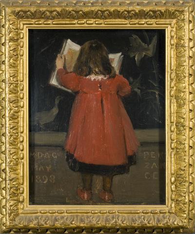 Portrait of the Artist's Daughter, Alethea Garstin