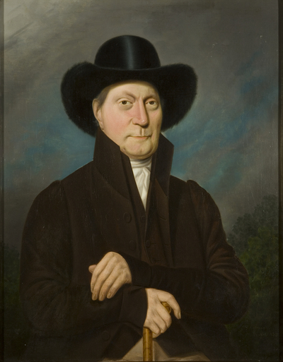 Portrait of a Man in a Beaver Hat