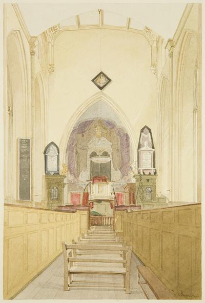 Interior of St John's Church