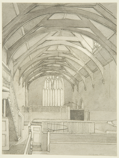Interior of Guildhall