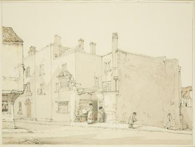 Front of the Newgate, Narrow Wine Street