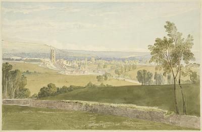 Keynsham from Durley Hill