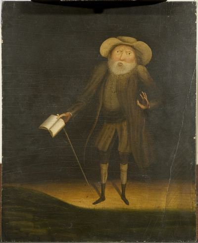 Image from object titled Portrait of Benjamin Lay