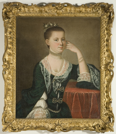 Portrait of Mrs Elias Vander Horst