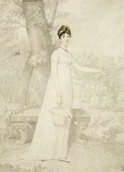 Portrait of Florence Upton, née Smyth
