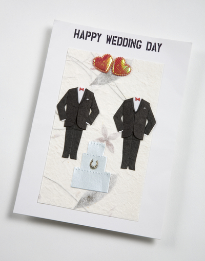 Image from object titled wedding card