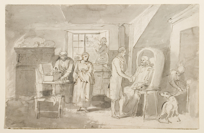 Sketch For The Departure For London