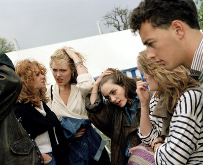 The Cost of Living, 1986-89. England. Gloucestershire. Badminton Horse Trials.