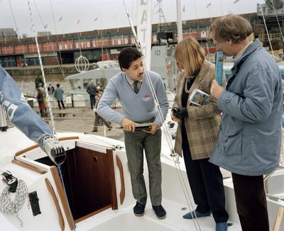 The Cost of Living, 1986-88. England. Bristol. Avon Regatta.