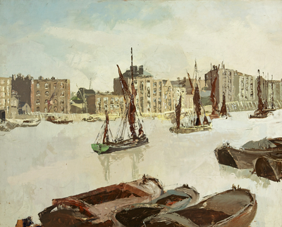 The Thames at Wapping