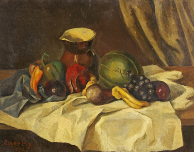 Still Life - Fruit with Jug