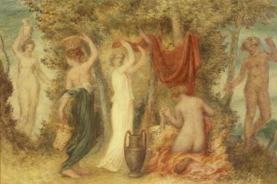Votive Offerings - Classical Scene