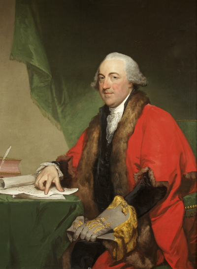 Portrait of Henry Cruger in Mayoral Robes
