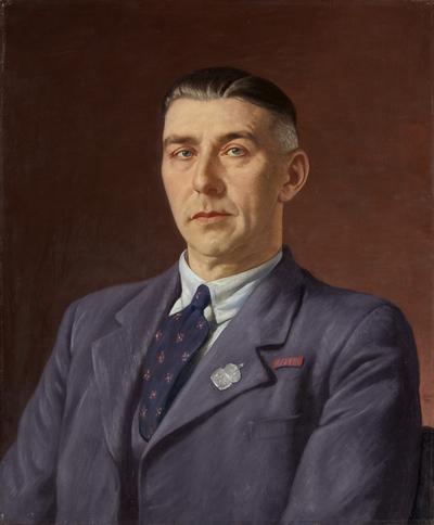 Portrait of Percival Henry Martin, Post Office, Bristol