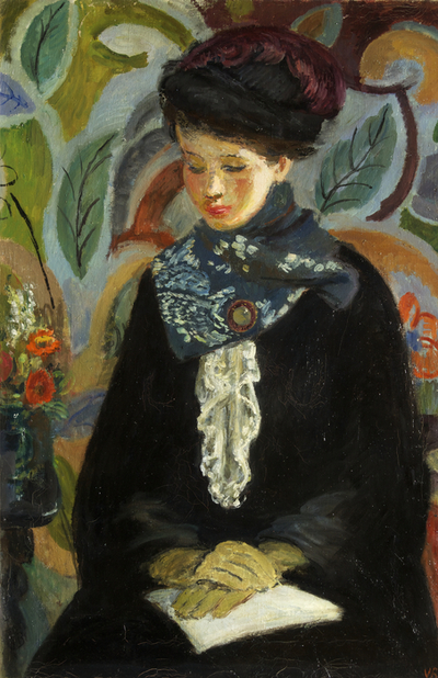 Lady with a Book