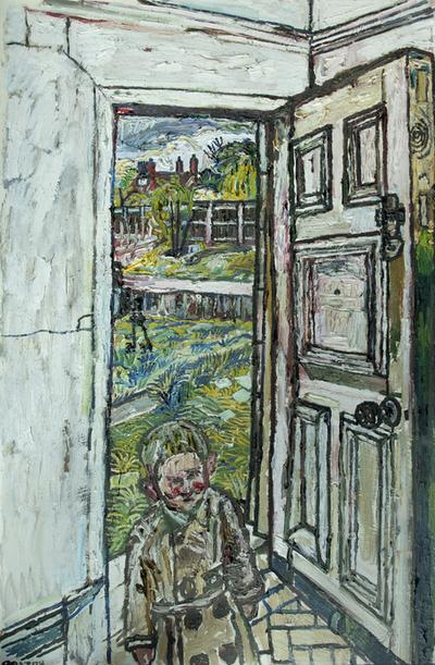 David in the Doorway