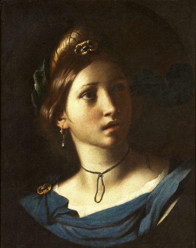 Image from object titled Portrait of a Young Woman