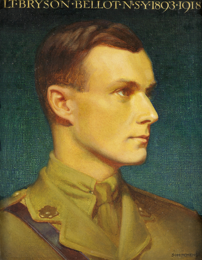 Portrait of Lt Bryson Bellot N.S.Y.