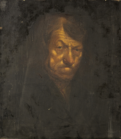 Portrait of the Bristol Beggar, Tom Thumb [Richard Brent]