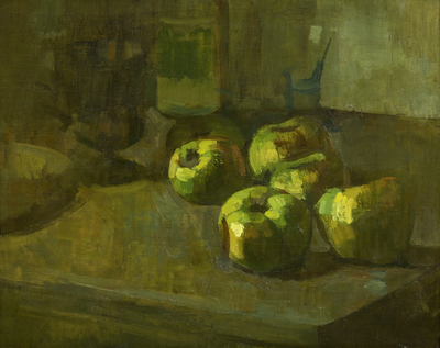 Still Life: Decaying Apples